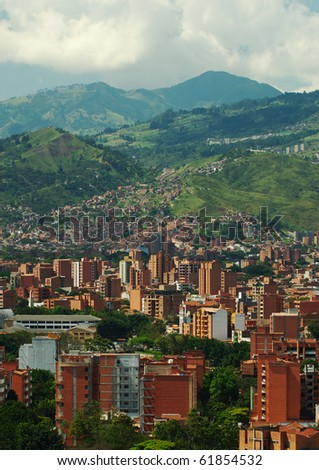 Medellin, the second biggest city in Colombia, which is the capital of the Department of Antioquia