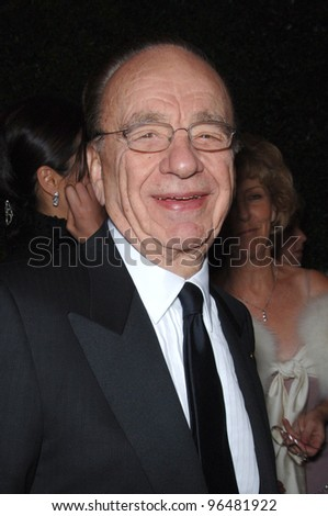 Media mogul RUPERT MURDOCH at the Penfolds Icon Gala Dinner, part of the G'Day LA Australia Week, at the Hollywood Palladium. January 14, 2006  Los Angeles, CA  2006 Paul Smith / Featureflash
