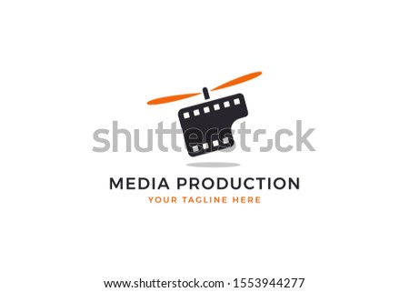 Media Production Industry Logo Concept