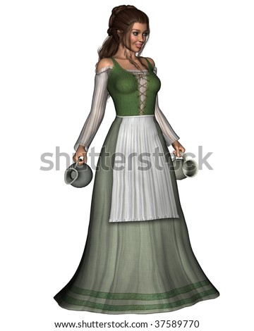 stock-photo-mediaeval-or-fantasy-tavern-serving-girl-carrying-a-pewter-jug-and-tankard-37589770.jpg