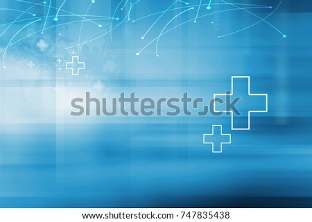 Medical Abstract Background, Global Connectivity Suitable for Healthcare and Medical Topic