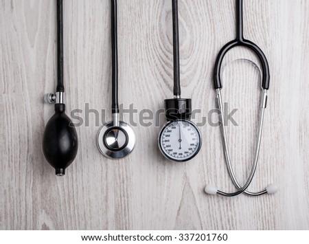 Medical background. Medical tools