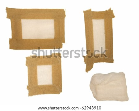 medical bandage - stock photo
