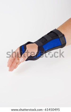 medical bandage for hand join, therapeutic appliance