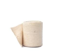 Medical bandage on a white background