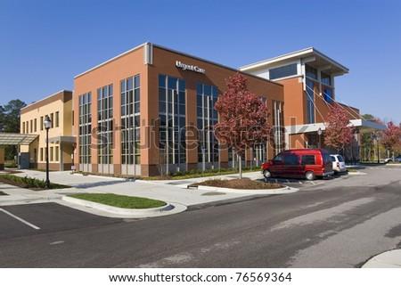 Medical center building