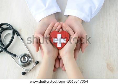 Medical concepts, safe support #1065047354