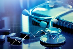 Medical Doctor Stethoscope, Medical marketing and Healthcare business analysis report