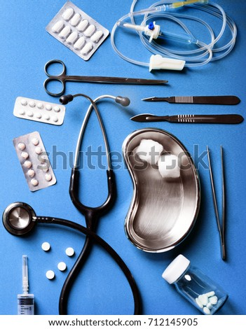Medical equipment and medicine