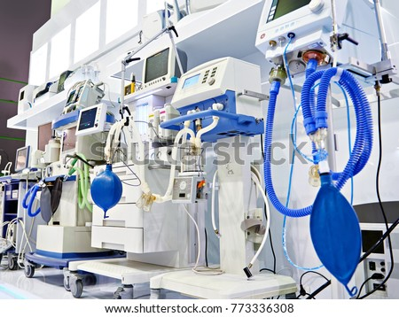 Medical equipment at the exhibition #773336308