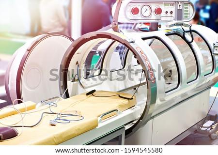 Medical hyperbaric single pressure chamber Stock photo ©
