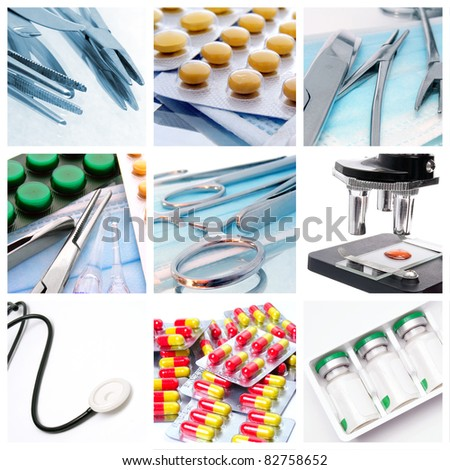 Medical instruments and preparats