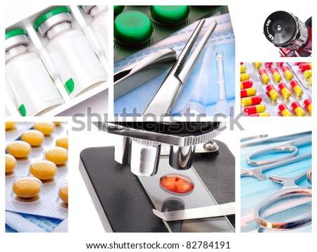 Medical instruments and preparats