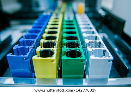 Medical laboratory equipment. Details