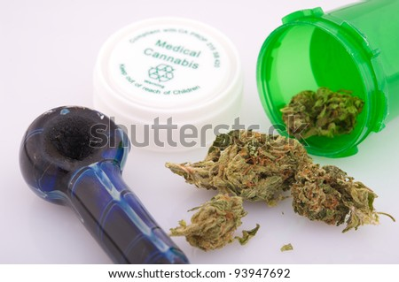 Medical marijuana - stock photo