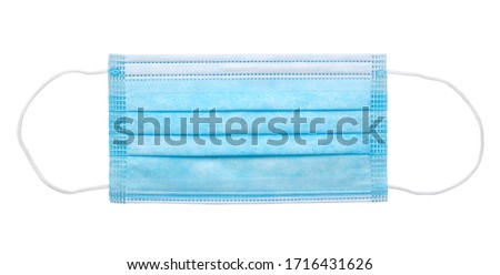 Medical  mask isolated on a white background
