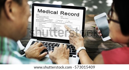 Medical Patient Report Form Record History Information Word #573015409