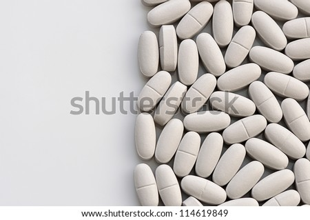 medical pill - stock photo