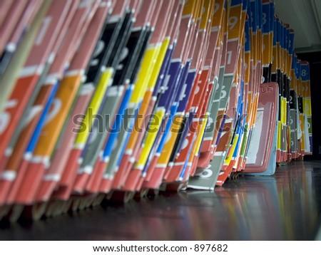 Medical records shelf 2