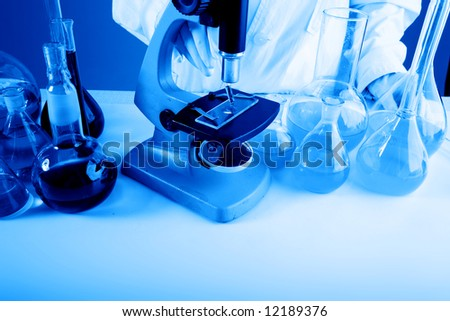 Medical science equitpment. Shot in a laboratory. #12189376
