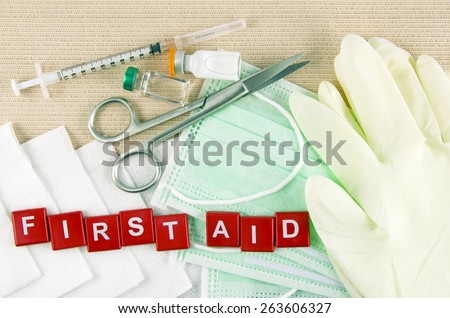 Medical Supply, Medical Emergency, First Aid Kit.