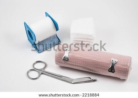 Medical Wound Kit - stock photo