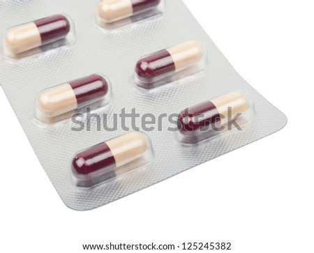 medication, medications isolated on white background