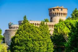 Medici Fortress of Volterra, Tuscany, Italy