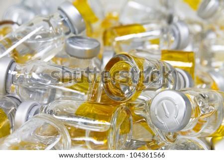 Medicinal bottles - stock photo