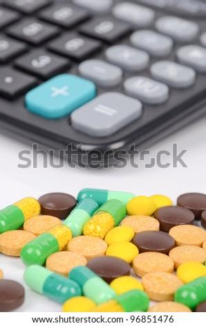 Medicine and calculator