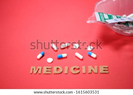 Medicine and the characters of MEDICINE