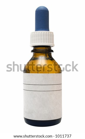 Medicine Bottle w/ Path