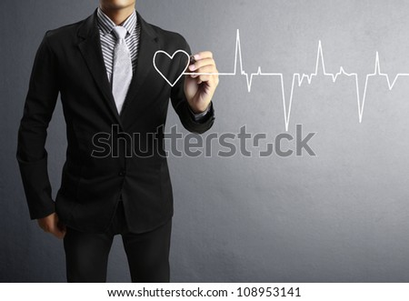 Medicine, Hand drawing - stock photo