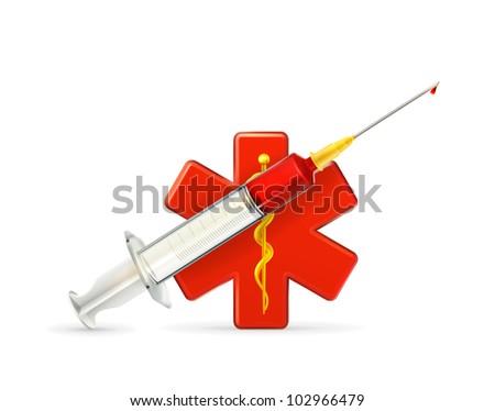 Medicine icon, bitmap copy