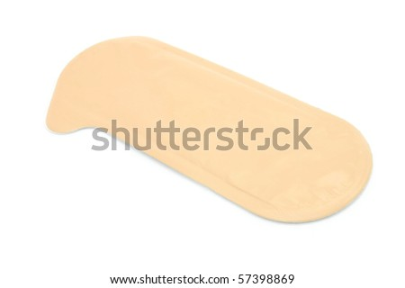 medicine patch - stock photo