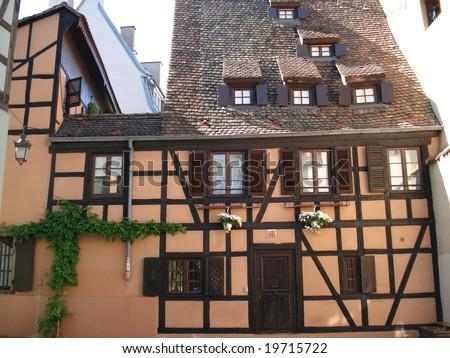 Medieval architecture in strasbourg france stock photo for K architecture strasbourg