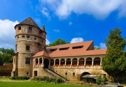 Medieval Bethlen Castle, Cris, Mures, Sighisoara, Romania