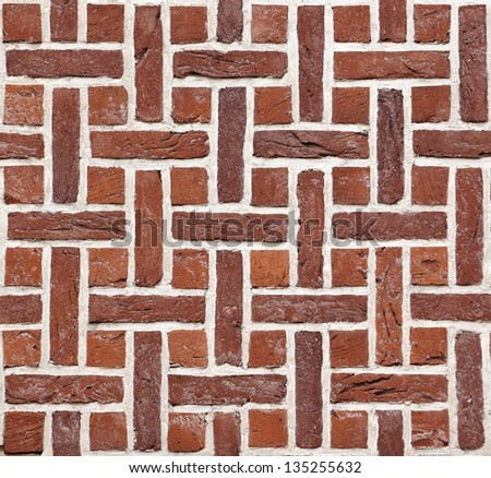Medieval brick wall background