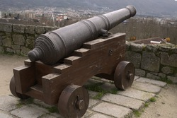 medieval bronze cannon from Portugal