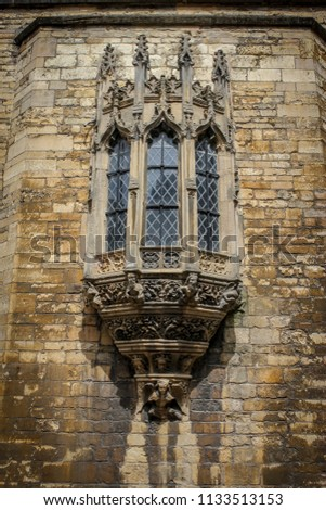 Medieval Castle Bay Window