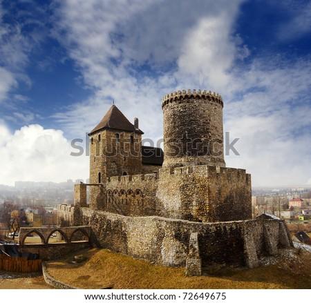 Medieval castle in Bedzin, Poland