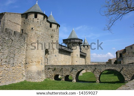 Medieval Castle in the South of France