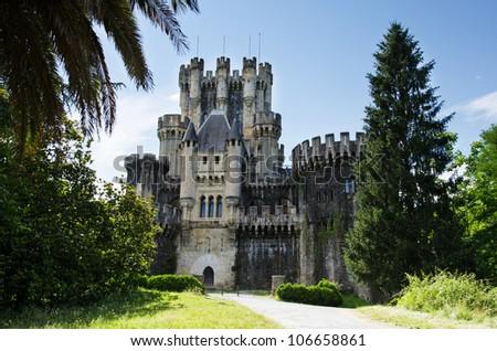 Medieval castle of Butron.