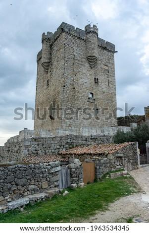 Medieval castle of San Felices de los Gallegos, Salamanca, Spain. Foto d'archivio ©