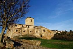 Medieval church of Saissac France