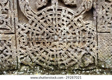 medieval cross stone detail,armenia