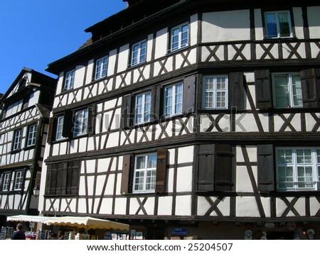 Medieval house in Strasbourg France