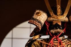 medieval japanese samurai armor (yoroi)