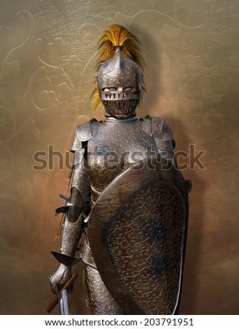 Stock Photo Medieval knight