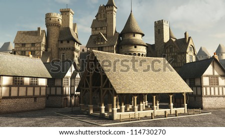 Medieval/Fantasy Towns and Castles
